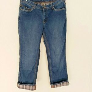 Carhartt Womens Size 14 Jeans Lined